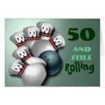 Customise Age  bowling Birthday
