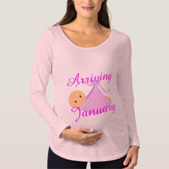 customise Baby girl due maternity t-shirt design