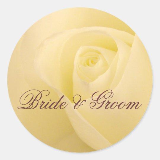 Customise Bride & Groom wedding seal