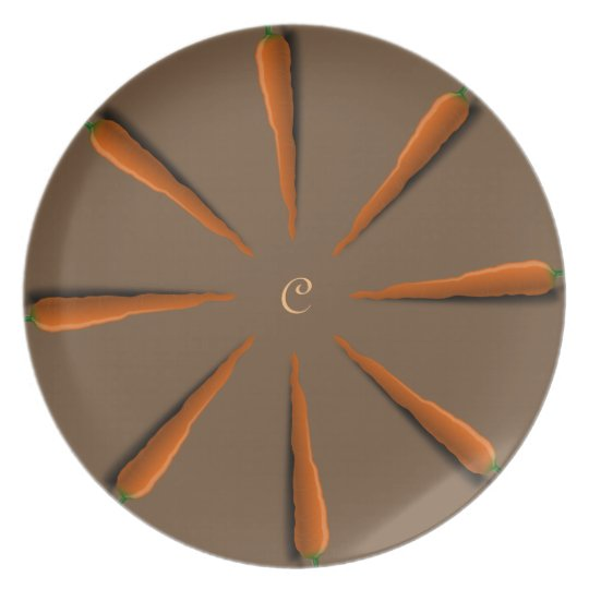 Customise Carrots Party Plate