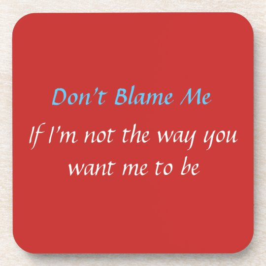 Customise Clean Slate Rant For The Day Coaster
