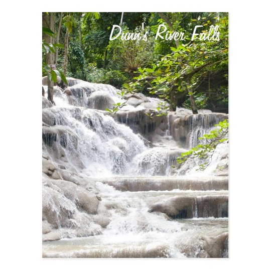 Customise Dunn's River Falls photo Postcard