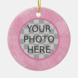 Customise Me! Cherry Blossom Pink Ornament