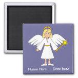 Customise Me -- Children's Nativity Angel Magnet