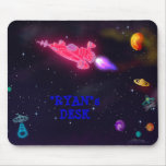 """customise me!"" Outer Space Mouse Pad"