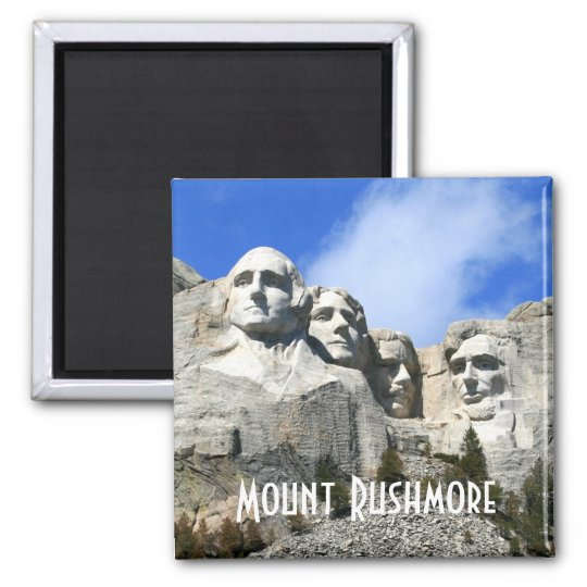 Customise Mount Rushmore National Memorial photo Magnet