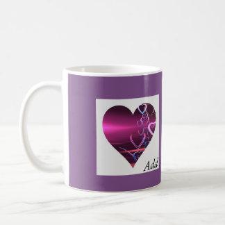 Customise Mug Purple Heart