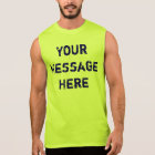 Customise Neon Tank Tops for Men
