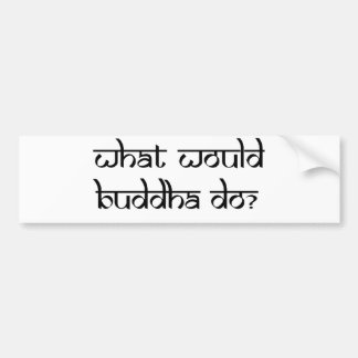 Customise Product Bumper Sticker