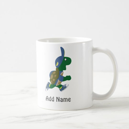 Customise Running Turtle Coffee Mug