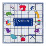 Customise the Label Quilt Time Poster