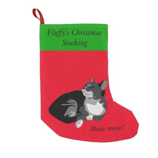 Customise this Christmas stocking for your cat!