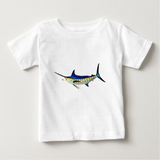 Customise this Marlin with your Boat Name Baby T-Shirt