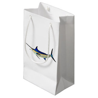 Customise this Marlin with your Boat Name Small Gift Bag