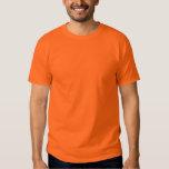 Customise this orange tshirt! shirt