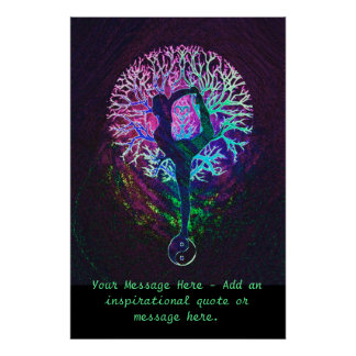 Customise this Poster - Yoga Tree
