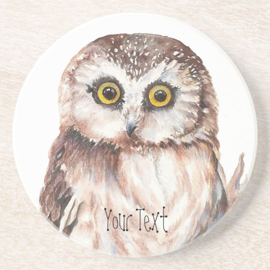 Customise with your Name Funny Owl - Bird,
