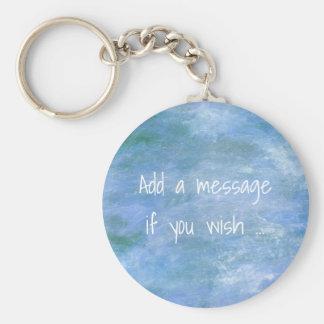 Customise Your Basic Round Button Key Ring