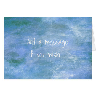 Customise Your Horizontal Greeting Card