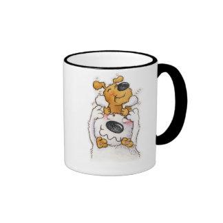 Customise your name here ringer mug