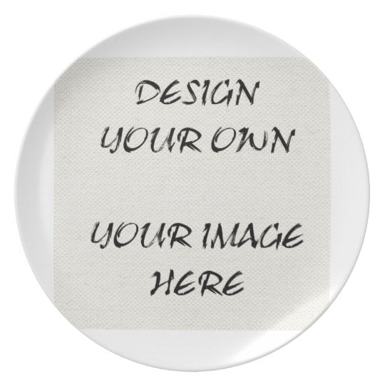 Customise Your Own Display Plate