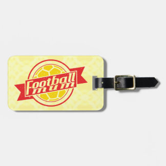 Customise Your Own Football Mum Luggage Tag