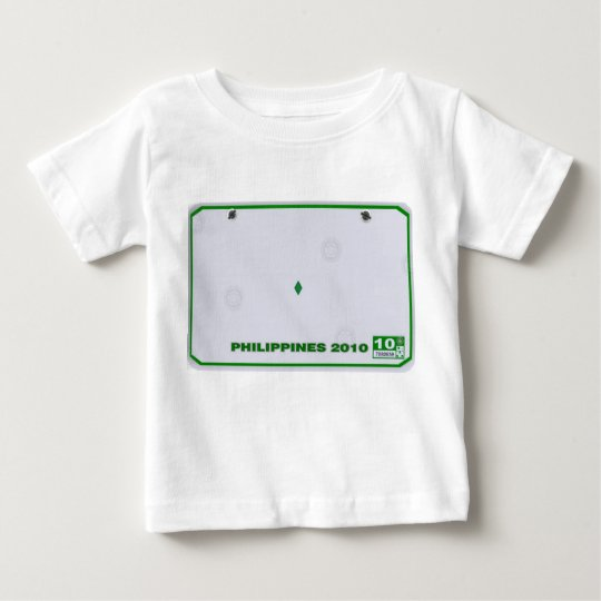 Customise your own Infant/kids License plate shirt