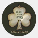 Customise your own Irish Wedding stickers