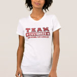 Customise Your Team Name and Slogan - Red T-Shirt