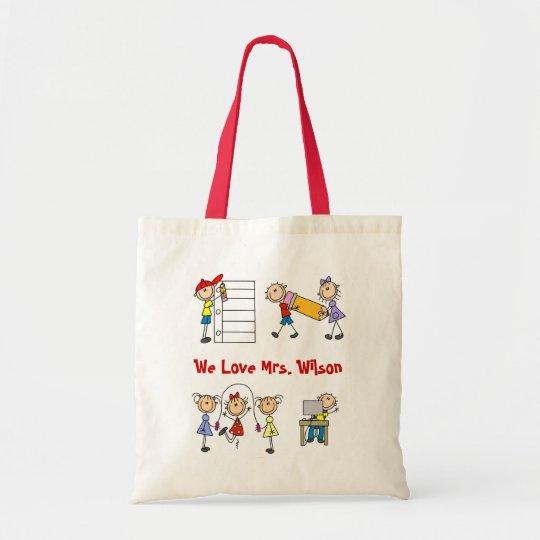 Customise Yourself Teacher Tote Bag