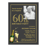 Customised 60th Birthday Party Invitations