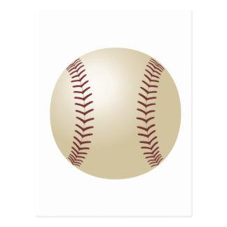 Customised Baseball Postcard