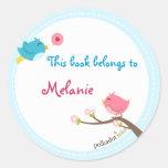 Customised Birdie Stickers Book
