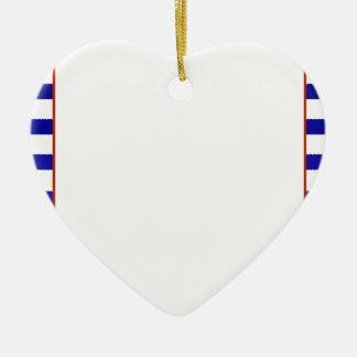 Customised Bridal Shower Game Nautical theme Ceramic Heart Decoration