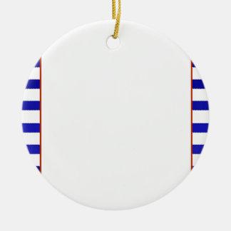 Customised Bridal Shower Game Nautical theme Round Ceramic Decoration