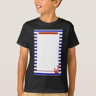 Customised Bridal Shower Game Nautical theme T-Shirt