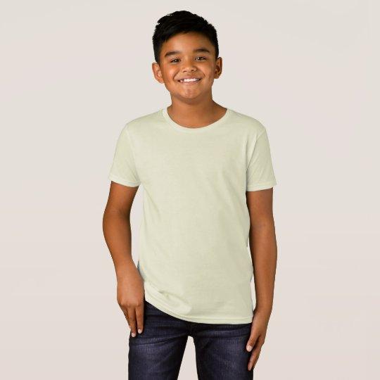 Kids' Organic T-Shirt, Natural