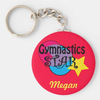Customised Gymnastics  Keychain