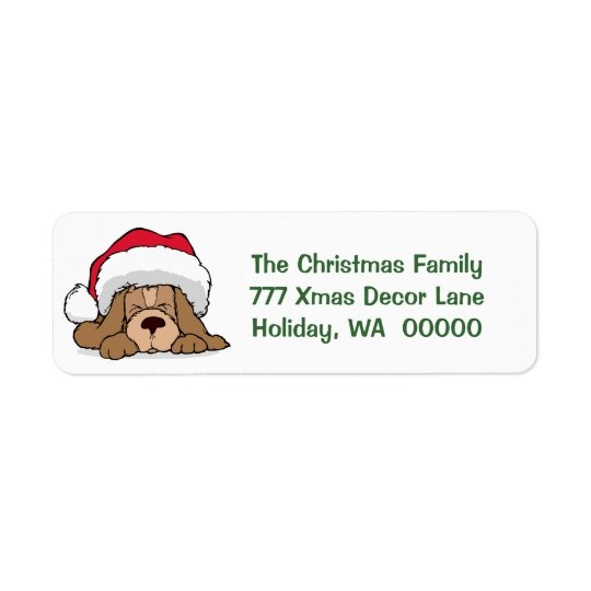 Customised Holiday Card Envelopes Return Address