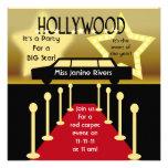 Customised Hollywood Glamour Birthday Invitation