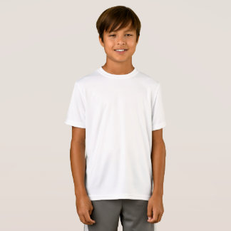 Customised Kids Sport-Tek Performance Fitted T-Shirt