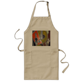 customised Long Apron, abstract art Long Apron