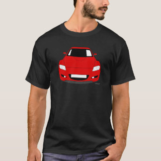 Customised  Mazda RX8 Car T shirt