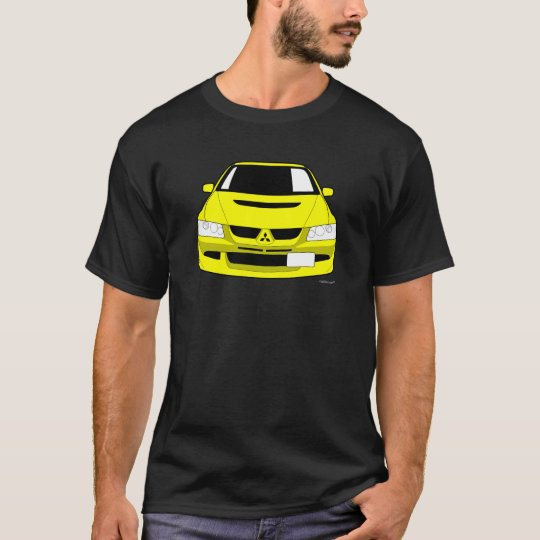Customised Mitsubishi Lancer Evo 8 Car T shirt