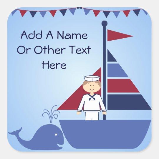 Customised Nautical Stickers