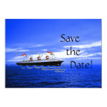 Customised Ocean Ship Wedding Cruise Save the Date