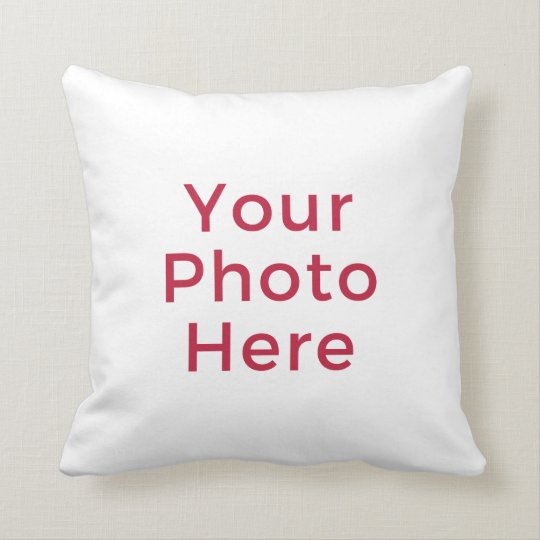 Customised Personalised Photo Double Sided DIY Cushion