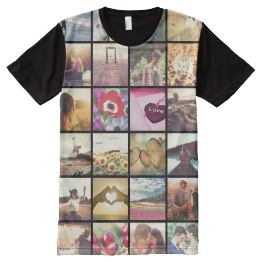 Customised photo memories All-Over print T-Shirt