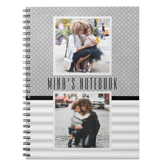 Customised Photo Template Journal/ Spiral Notebook
