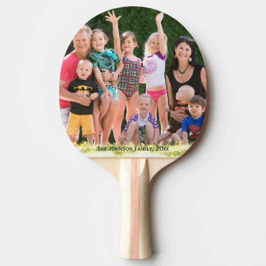 Customised Ping Pong Paddles Add Your Photo